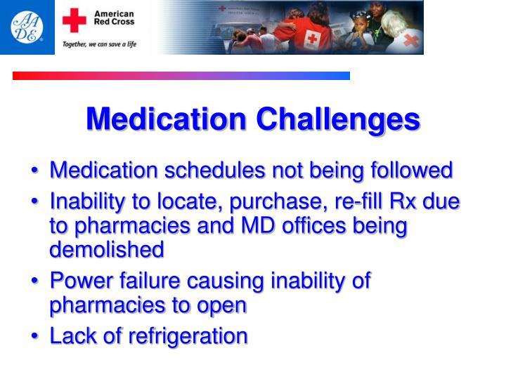 Medication Challenges