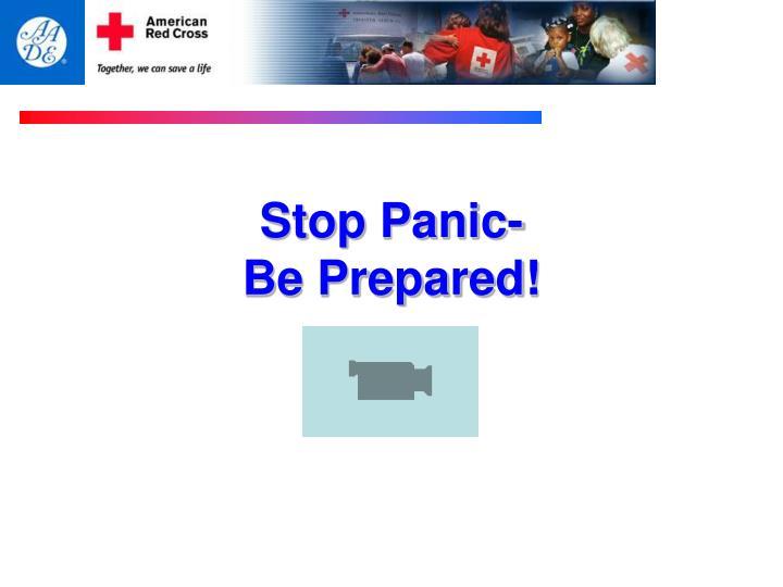 Stop Panic-