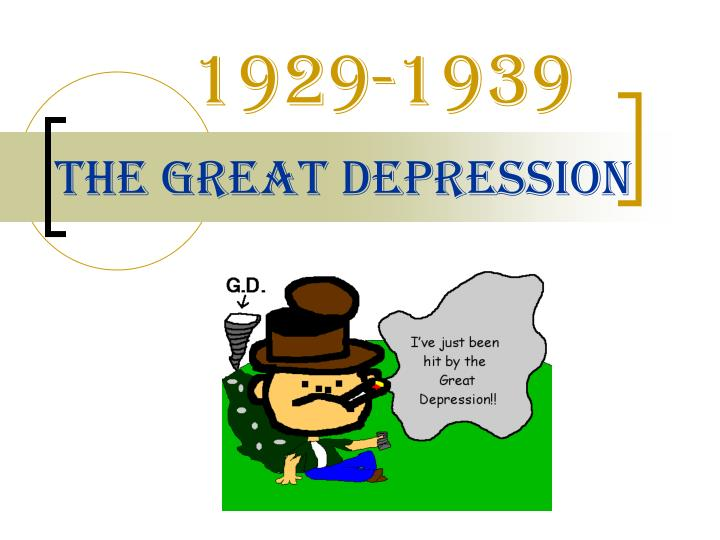 PPT - The Great Depression PowerPoint Presentation, free ...