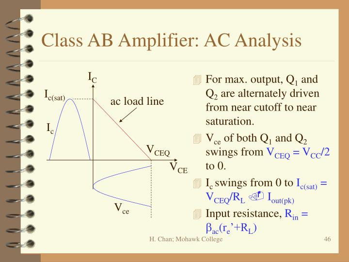 Class AB Amplifier: AC Analysis