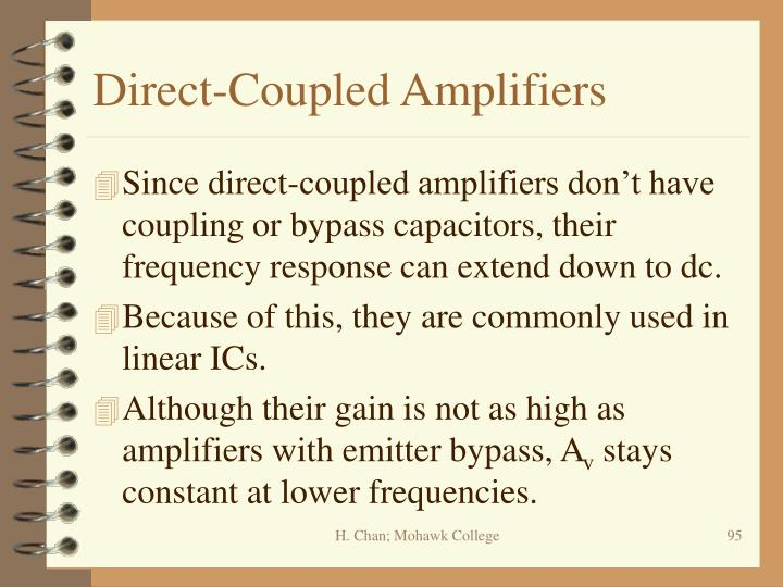 Direct-Coupled Amplifiers