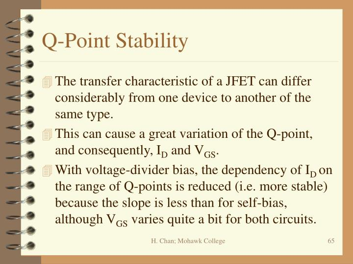 Q-Point Stability