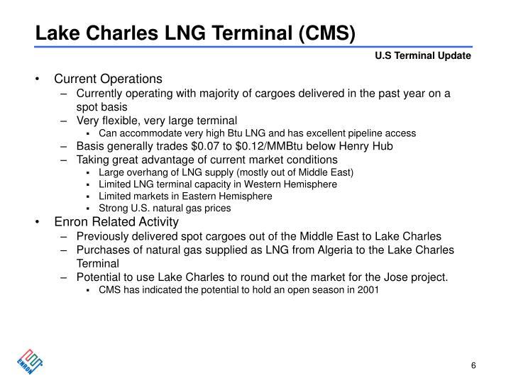 Lake Charles LNG Terminal (CMS)