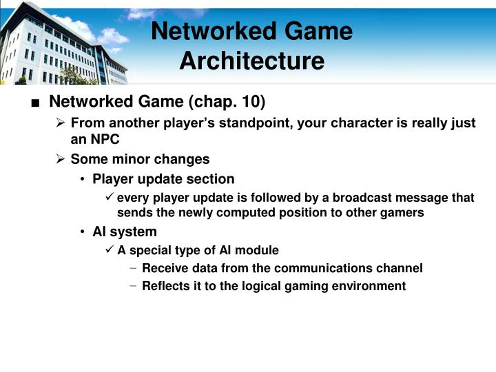 Networked Game
