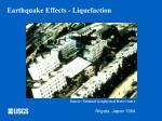 earthquake effects liquefaction