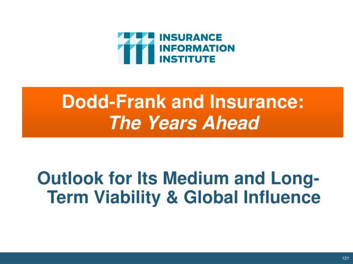 Dodd-Frank and Insurance:
