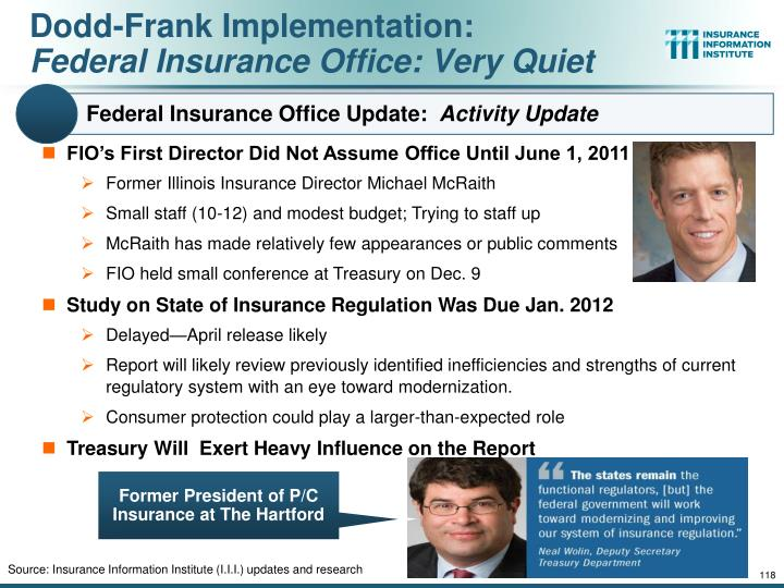 Federal Insurance Office Update: