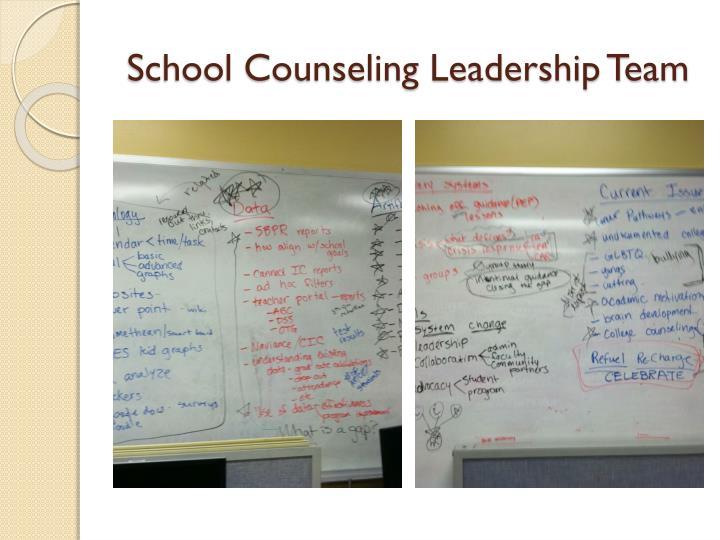 School Counseling Leadership Team