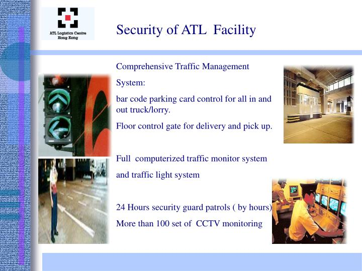 Security of ATL  Facility