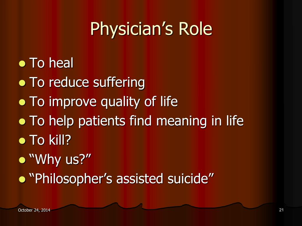 PPT - The Right to Die with Dignity: An Argument in Ethics