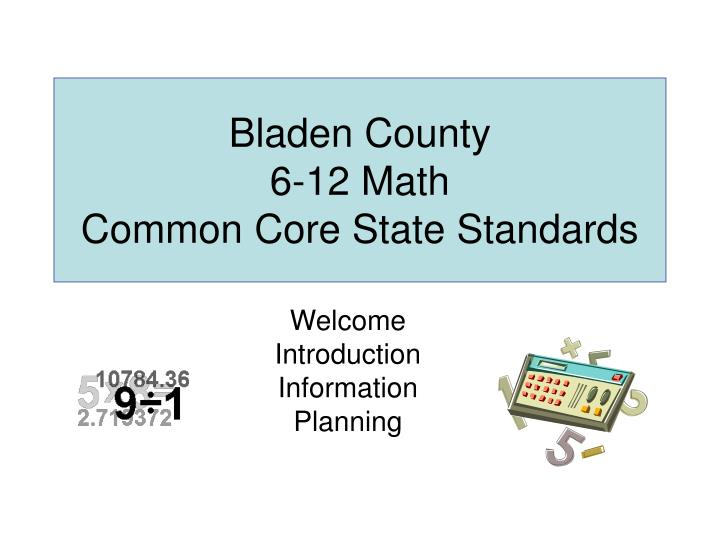 bladen county 6 12 math common core state standards n.