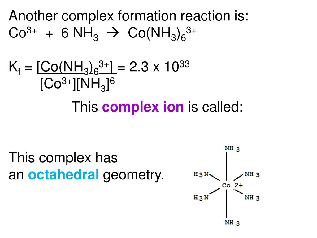 PPT - Chemistry 223 Chapter 26 Coordination Complexes PowerPoint