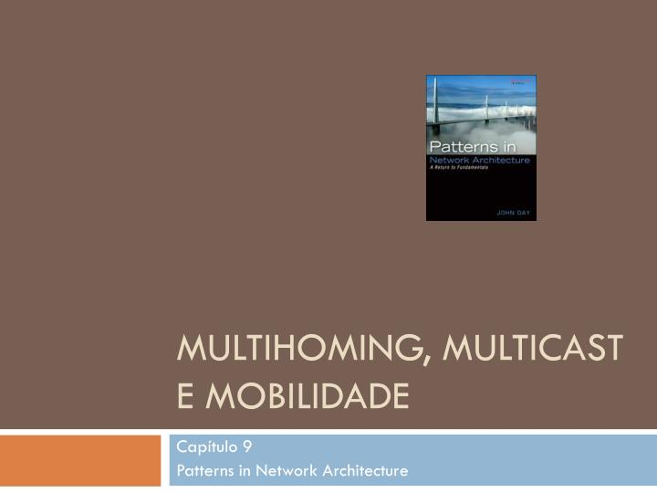 multihoming multicast e mobilidade n.