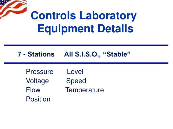 Controls Laboratory
