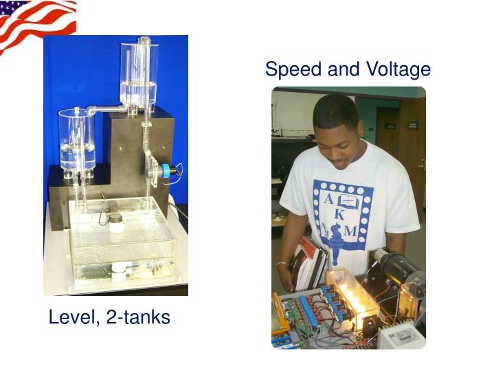Speed and Voltage