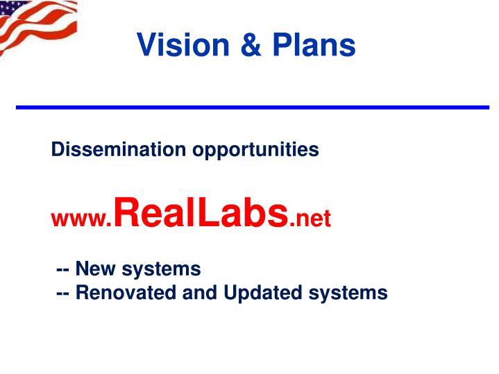 Vision & Plans