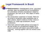 legal framework in brazil
