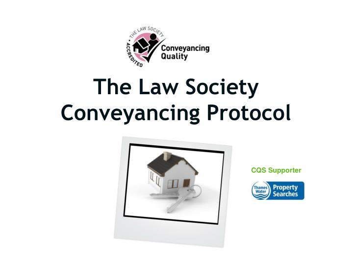 the law society conveyancing protocol n.