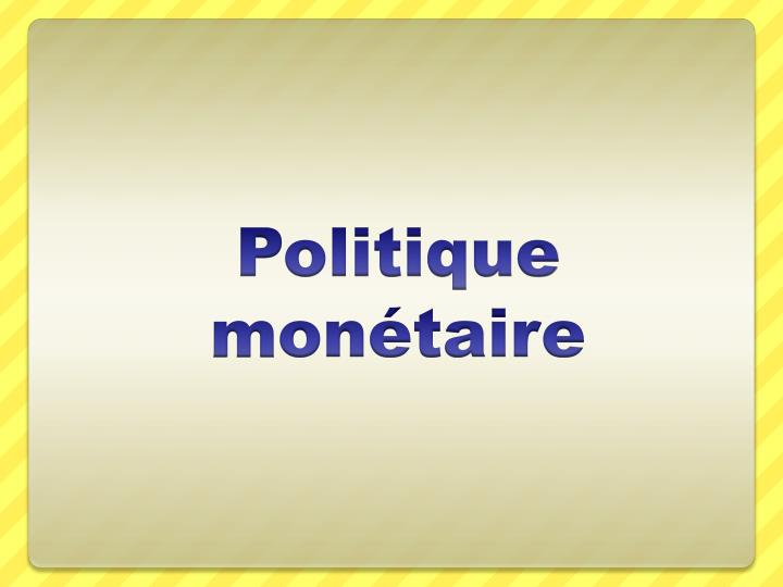 politi que m on taire n.