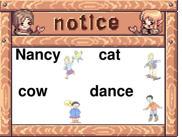 Nancy         cat