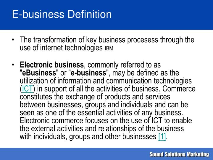 internet business and electronic commerce essay
