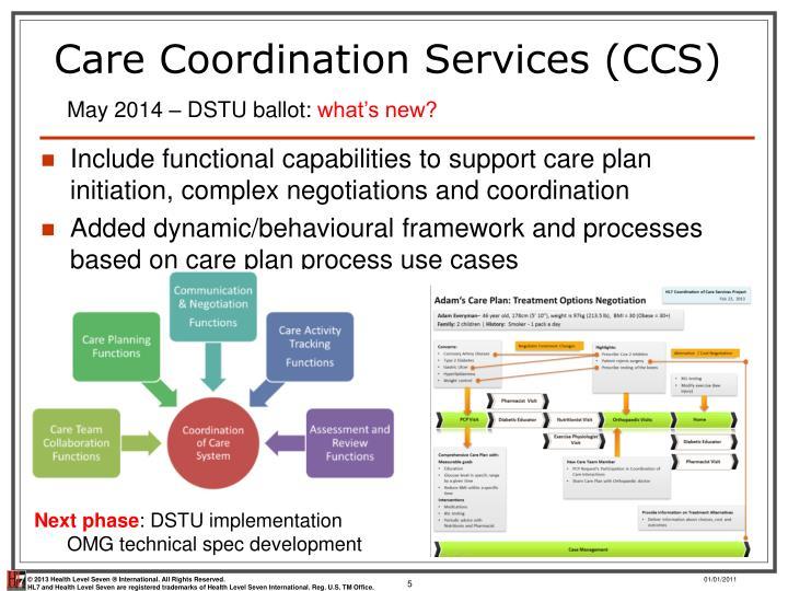 Care Coordination Services (CCS)