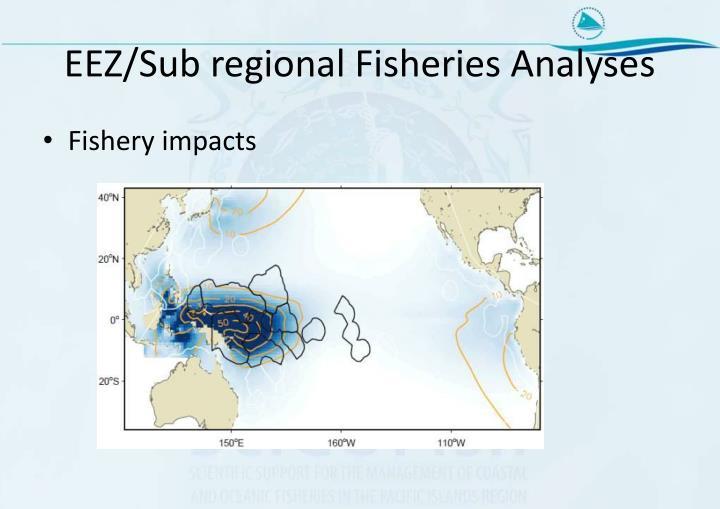 EEZ/Sub regional Fisheries Analyses