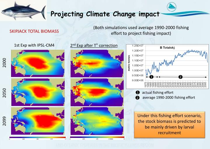Projecting Climate Change impact
