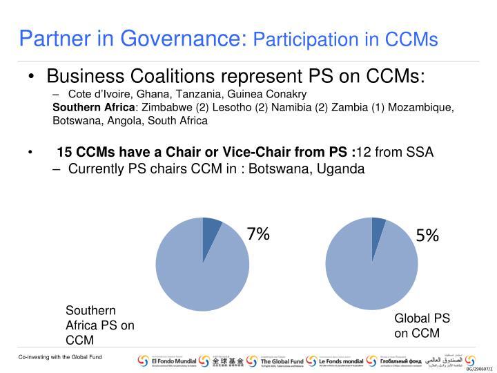 Partner in Governance: