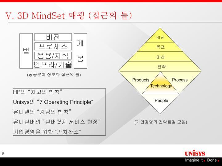 V. 3D MindSet