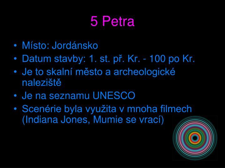 5 Petra