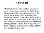 holy ghost1