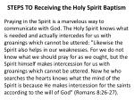 steps to receiving the holy spirit baptism10