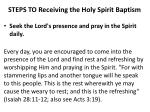 steps to receiving the holy spirit baptism9