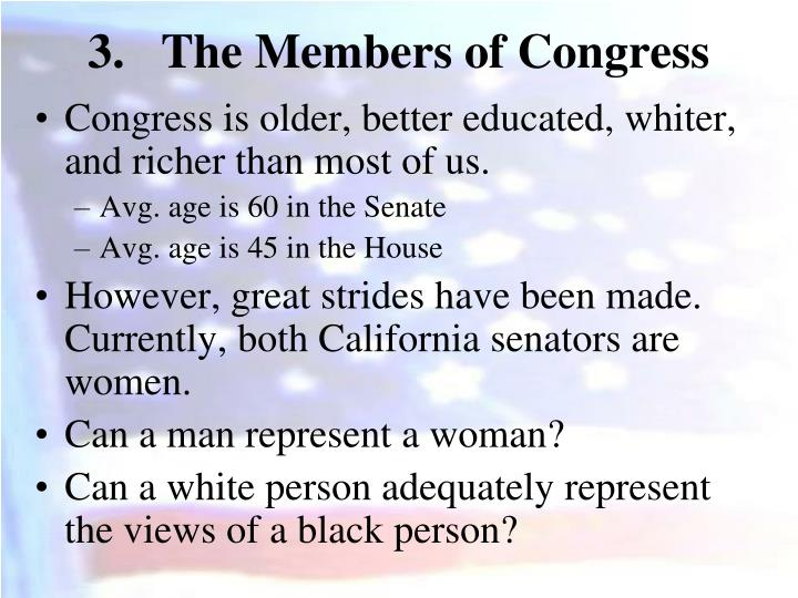 The Members of Congress