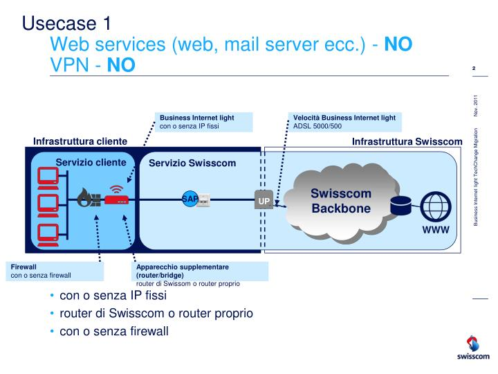 Usecase 1 web services web mail server ecc no vpn no