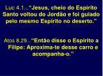 luc 4 1 jesus cheio do esp rito santo voltou do jord o e foi guiado pelo mesmo esp rito no deserto
