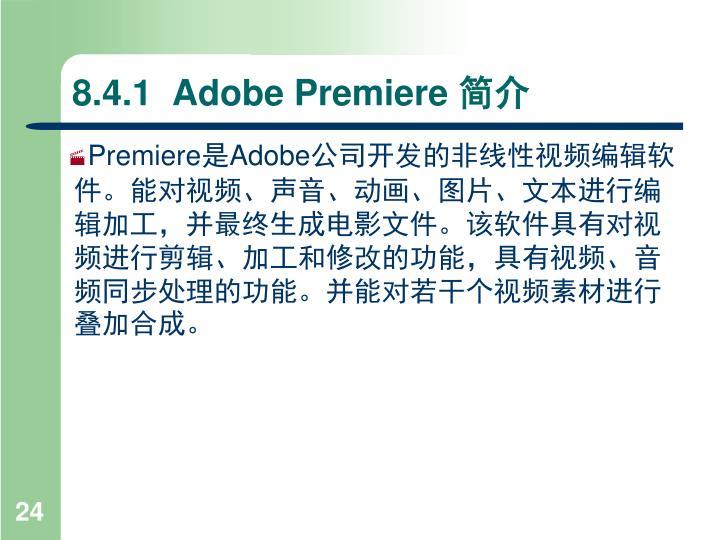 8.4.1  Adobe Premiere