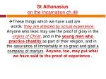 st athanasius on the incarnation ch 48