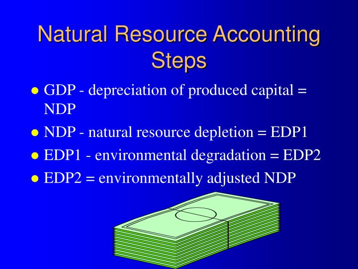 Natural Resource Accounting Steps