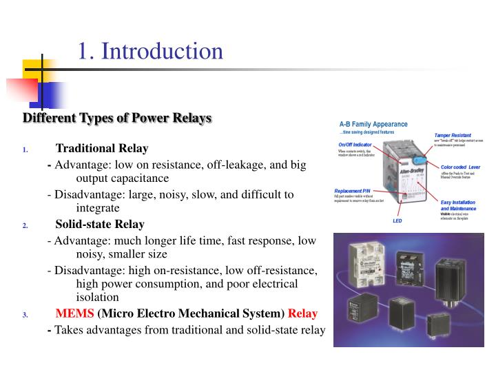 PPT UVLIGA Microfabrication of a Power Relay Based on