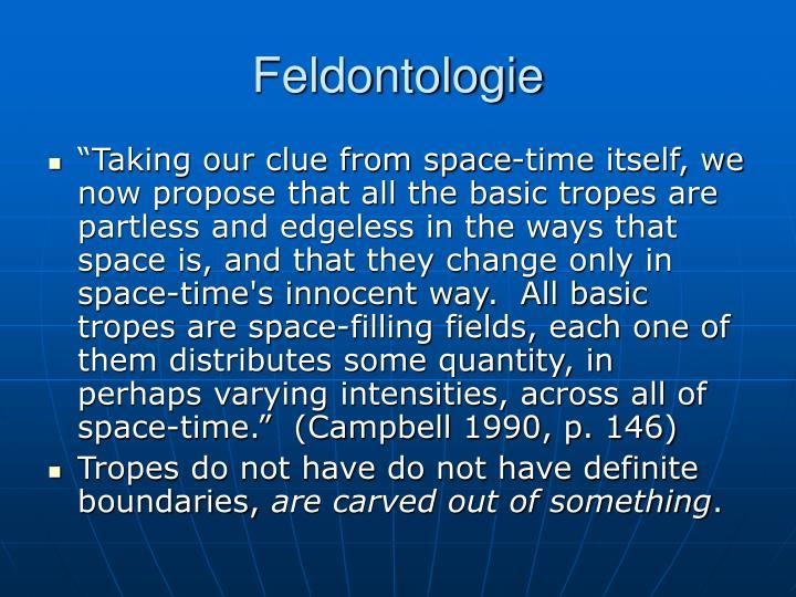 Feldontologie