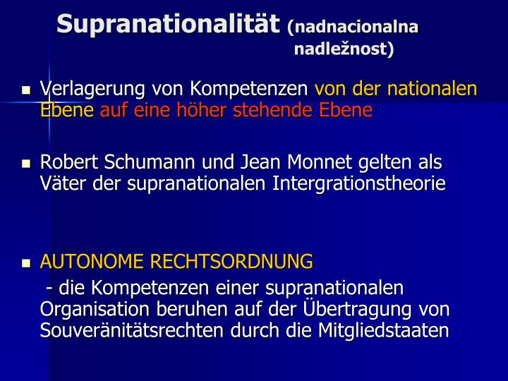 Supranationalität