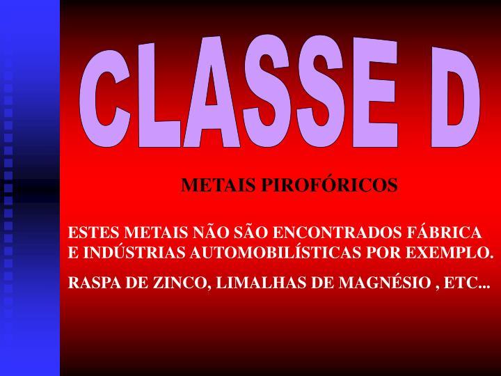 CLASSE D