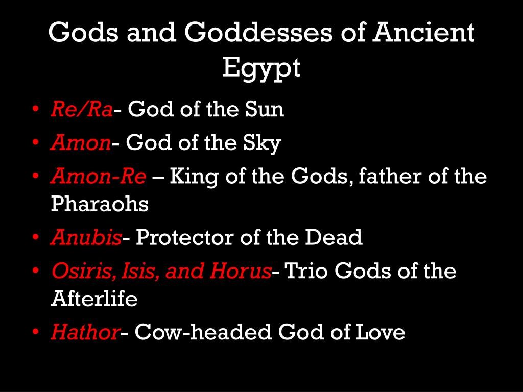 PPT - Egyptian Culture and Religion PowerPoint Presentation - ID:5793930