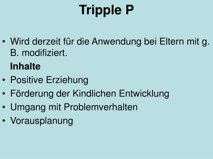 Tripple P