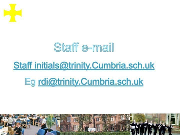 Staff e-mail