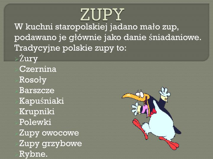 Ppt Kuchnia Polska Staropolska I Regionalna Powerpoint