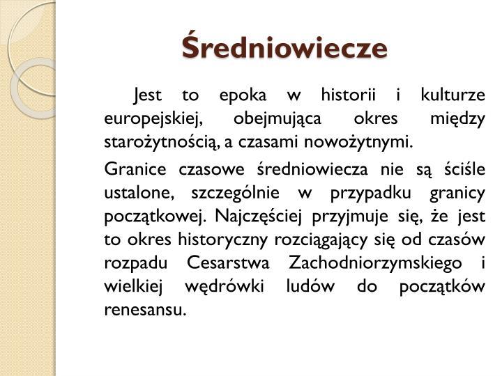 Redniowiecze1