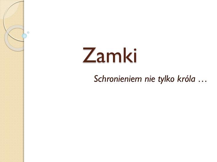 Zamki
